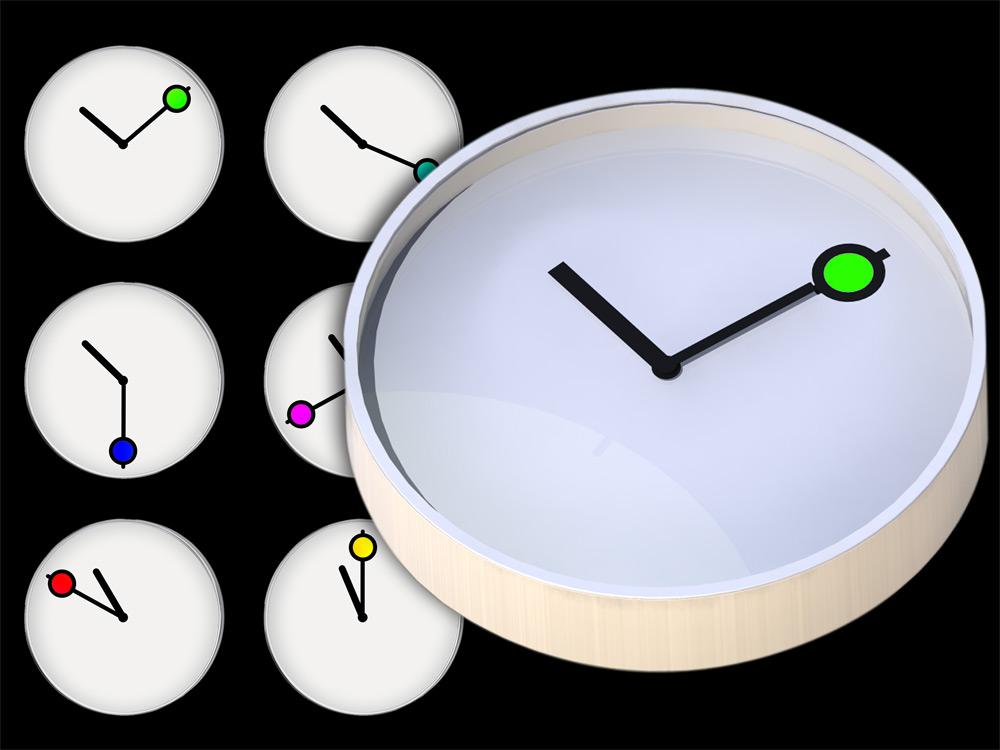 Coloured Minutes
