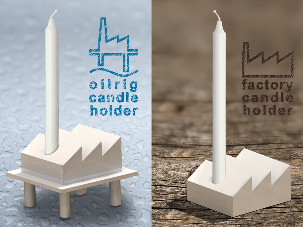 Factory Candle Holder